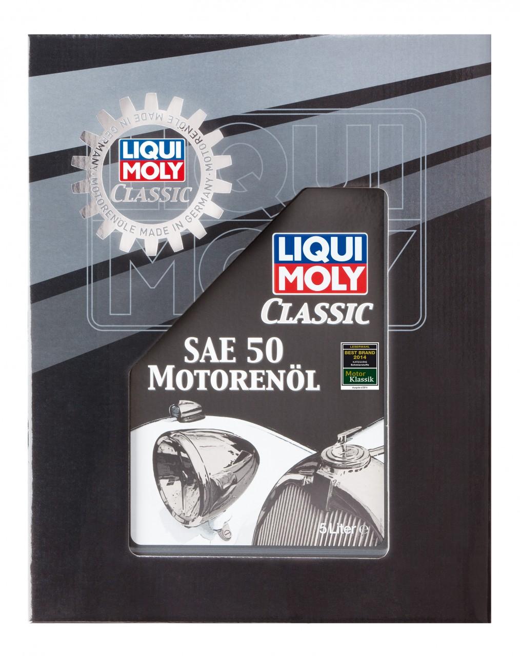 liqui moly classic motor oil sae 50 5 liter de olie. Black Bedroom Furniture Sets. Home Design Ideas