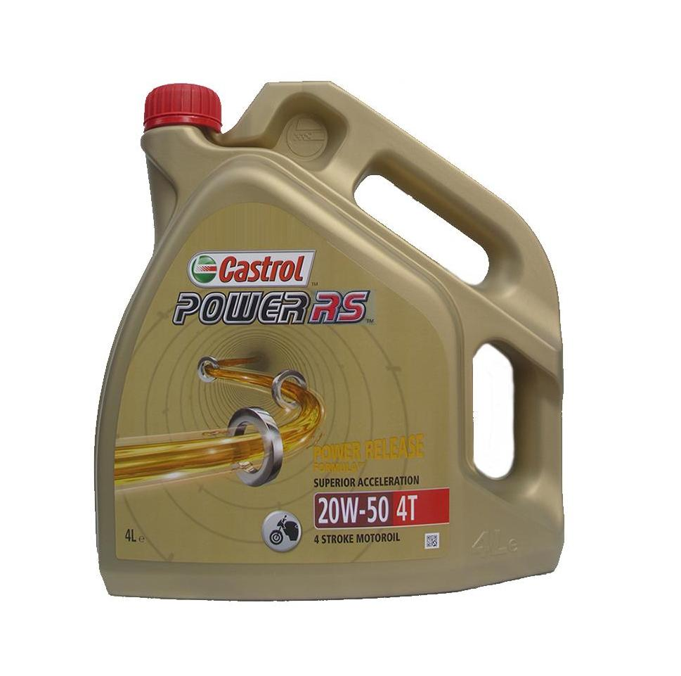 Castrol Power RS 4T 20W-50 4L - De Olie Concurrent: https://www.deolieconcurrent.nl/products/Castrol-Power-RS-4T-20W...