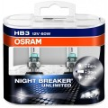 Osram HB3 Night Breaker UNLIMITED 12V 60W Set