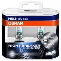 Osram HB3 Night Breaker UNLIMITED 12V 60W Set