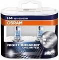 Osram H4 Night Breaker UNLIMITED 12V 60/55W Set