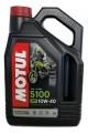 MOTUL 10W40 5100 4-T MA2 4 Liter