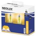 Neolux H4 gele halogeen lampen set