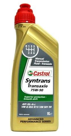 castrol syntrans transaxle 75w 90 1 liter de olie concurrent. Black Bedroom Furniture Sets. Home Design Ideas