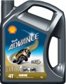 Shell Advance 4T Ultra 15W-50 4 Liter