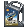 Shell Advance 4T Ultra 10W40 4 Liter
