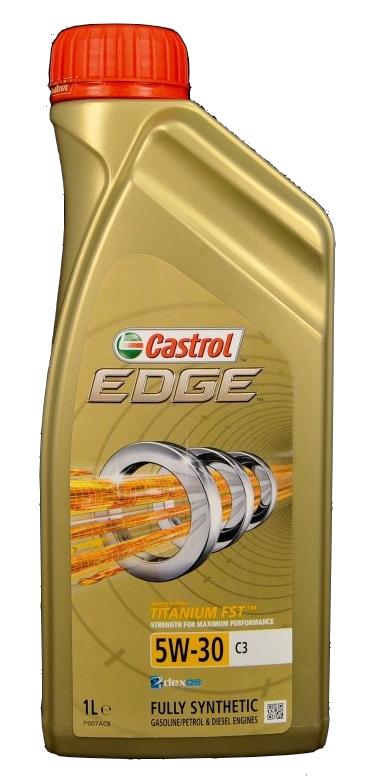 Ubrugte Castrol Edge Titanium C3 5W30 1 Liter - De Olie Concurrent AD-41