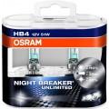 Osram HB4 Night Breaker UNLIMITED 12V 51W Set