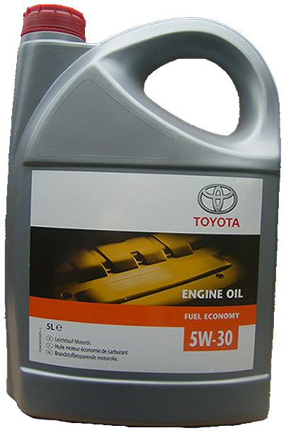 Fin Toyota 5w-30 5 liter - De Olie Concurrent RS-44