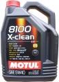 Motul 5W 40 8100 X Clean 5 liter